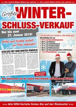 Großer Winter-Schluss-Verkauf